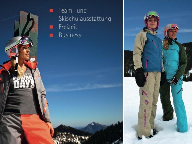 Cured Katalog – Team- und Skischulausstattung, Freizeit, Business